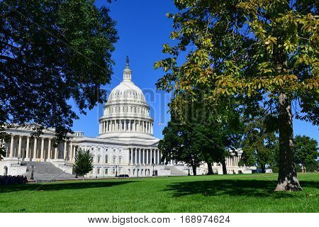 US Capitol Building - Washington DC USA