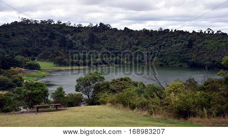 The Mount Gambier Valley Lake is a hidden gem amongst the crater lakes in Mount Gambier South Australia.