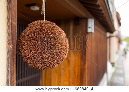 Japanese ceder ball