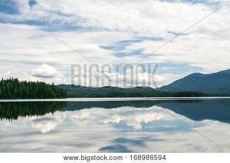 Beautiful siberian views. Tagasuk lake. Siberia, Russia
