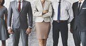 Business Team Office Worker Entrepreneur Concept poster