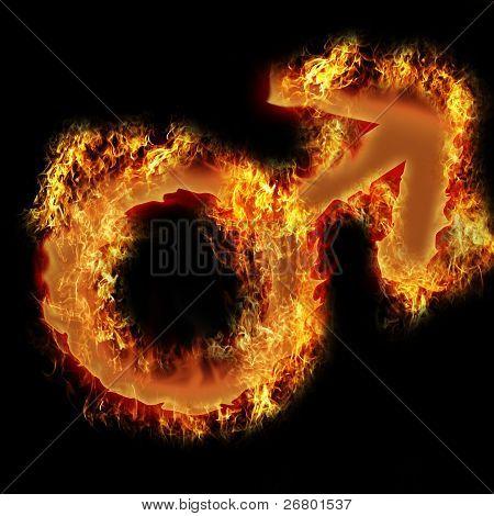 Burning Man Sign