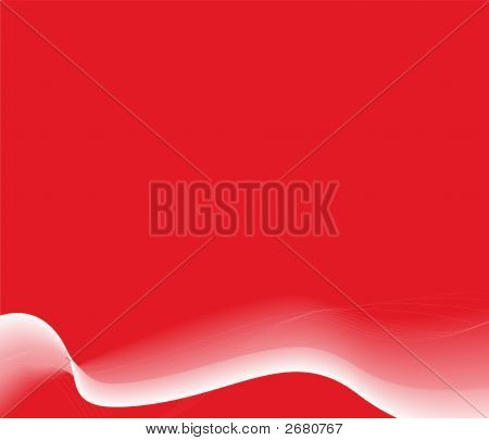 Modern Abstract Wavy Background