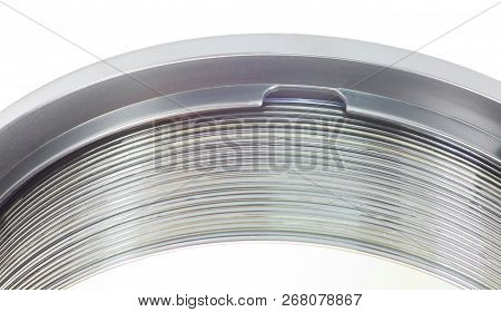 Image Of Many Compact Disc On White Background