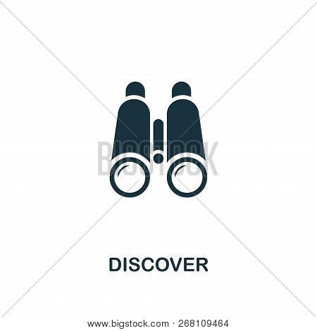 Discover Icon. Premium Style Design From Startup Icon Collection. Ui And Ux. Pixel Perfect Discover
