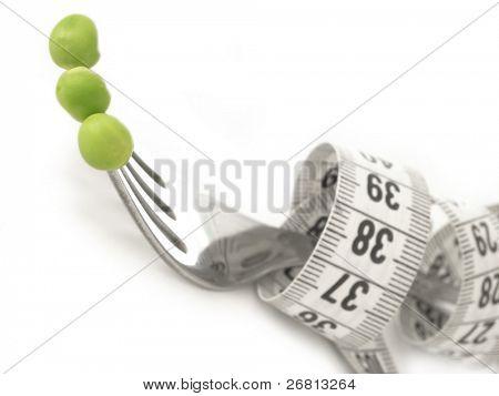 peas on the fork, diet