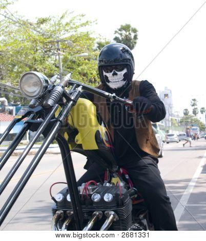 Scary Biker