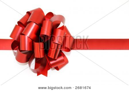 bow resent christmas red bow isolated on white holiday birthday box package satin season tying wrapping paper tied knot valentine clipping path white background ribbon gift wrapping celebration present poster