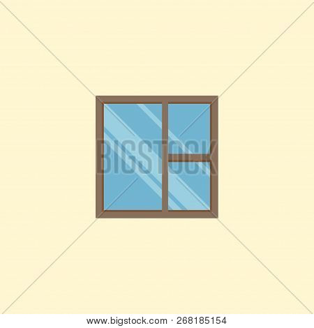 Casement Icon Flat Element. Vector Illustration Of Casement Icon Flat Isolated On Clean Background F