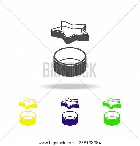 Bakeware, Cookware Multicolored Icon. Element Of Kitchenware Multicolored Icon. Signs, Outline Symbo