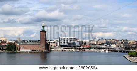 Cityline of Stockholm