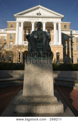 Uw Bascom Hall Lincoln Wide