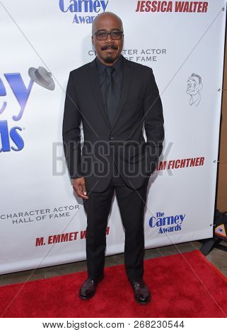 LOS ANGELES - OCT 28:  Marlon Young arrives for the Carney Awards 2018 on October 28, 2018 in Santa Monica, CA