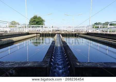 Sedimentation Unit Of Conventional Water Treatment Plant