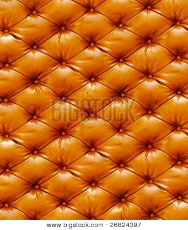 Structure of a leather
