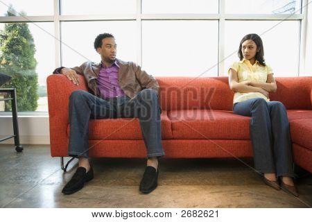 Disputing Couple.