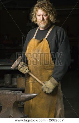 Metalsmith Portrait.