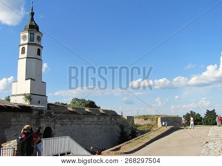 Belgrade, Serbia - June 25 2011: Stambol Gate Is The Main Entrance To The Citadel