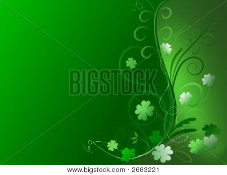 Decorative St. Patrick'S Day Background