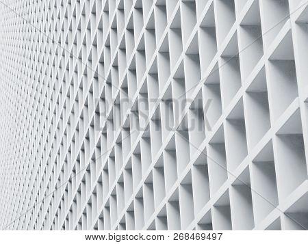 Cement Panel Architecture Details Geometric Pattern Architecture Details