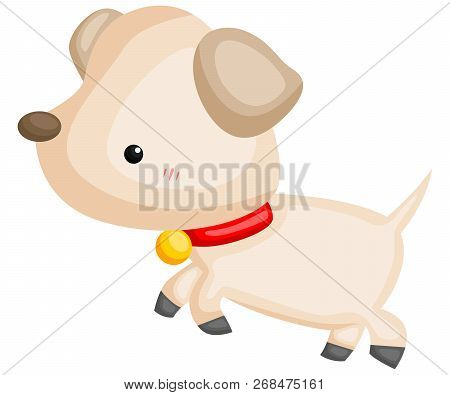 A Vector Of A Cute And Adorable Dog
