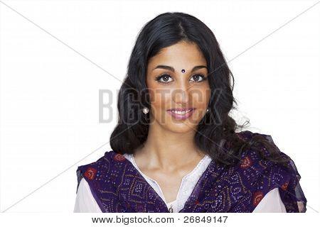 Sweet Smiling Indian Girl