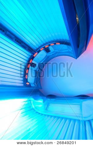 tanning bed ready to use