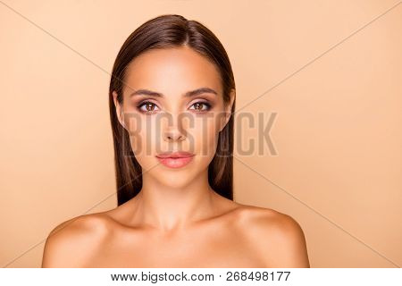 Portrait Of Well-groomed Attractive Gorgeous Beautiful Leisure Lifestyle Good-looking Lady With Her