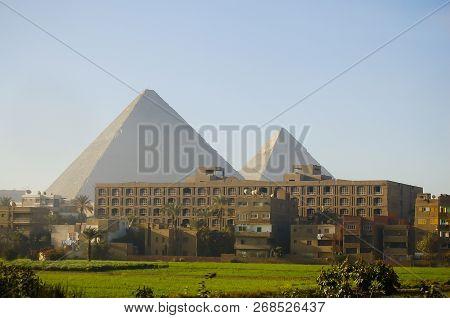 Giza Plateau - Cairo City - Egypt