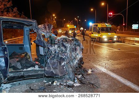 One Dead And Twenty-four Injured With Illegal Immigrants Is The Report Of The Traffic Accident At Th