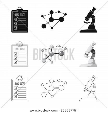 Vector Design Of  And  Logo. Set Of  And  Stock Vector Illustration.