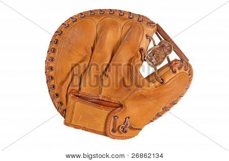 Vintage Baseball Catcher's Mitt