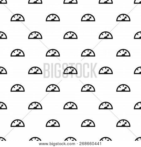 Heart Pump Pattern Seamless Vector Repeat For Any Web Design