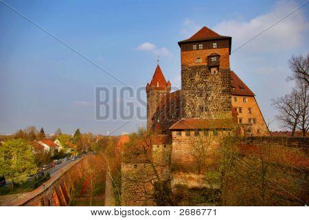 A City-Wall Castle - Nurnberg, Germany