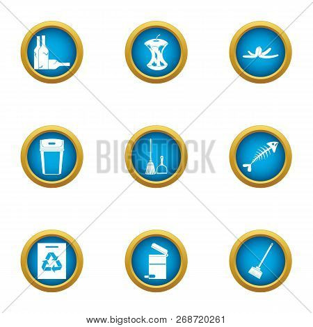 Miscarry Icons Set. Flat Set Of 9 Miscarry Icons For Web Isolated On White Background