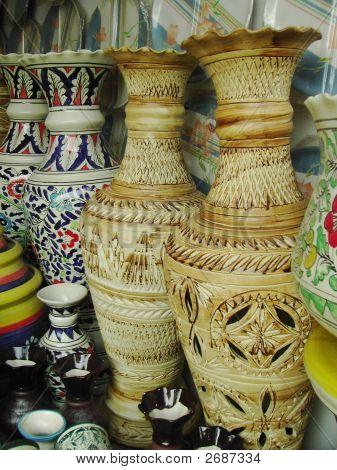 Stoneware Flower Pots