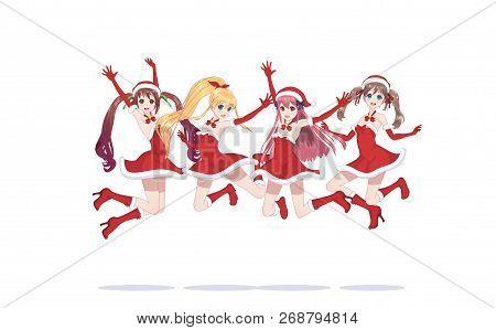 Joyful Anime Manga Vector & Photo (Free Trial) | Bigstock
