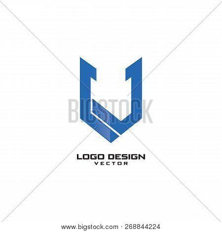 v letter logo design vector photo free trial bigstock