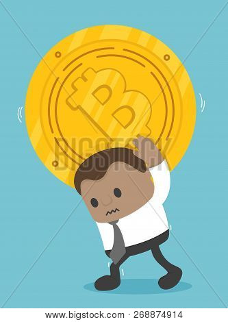 African Businessmen Are Showing Signs Of Heavy Bitcoin Coinage That Depicts The Downside And Bitcoin