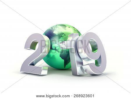 2019 Greeting Symbol For Environment