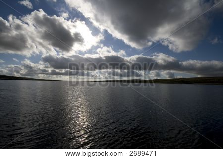 Views Of Grimwith Reservoir