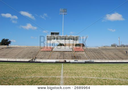 Bleachers From Mid-Field