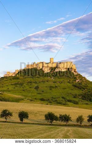 Ruin of Spis Castle in Slovakia