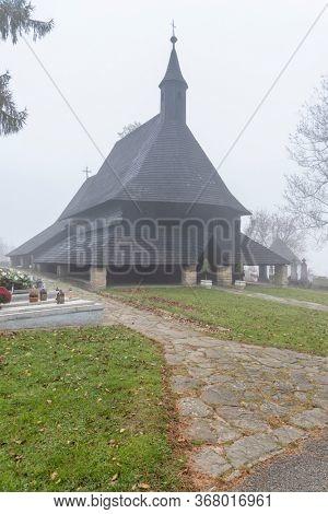 UNESCO monument Church of All Saints in Tvrdosin, Slovakia