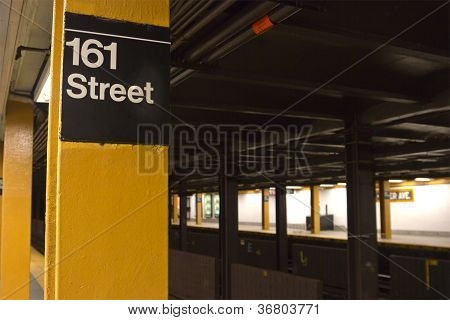 161St St. Subway Station, Nyc
