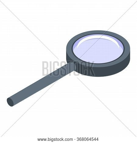 Quest Magnifier Icon. Isometric Of Quest Magnifier Vector Icon For Web Design Isolated On White Back
