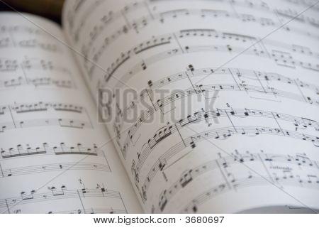 Music Score For Piano