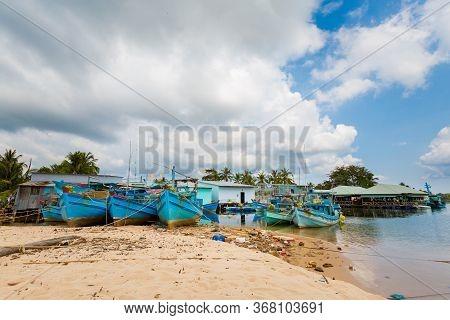 Landscape Of Phu Quoc Bai Dai Beach