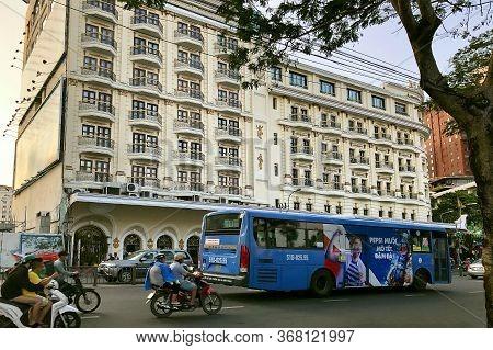Ho Chi Minh City, Vietnam - February 9, 2019: Cityscape Of Ho Chi Minh City. European Style Historic