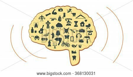Brain Ideas. Thoughts Of Man. Psychology Of Thinking. Different Hobbies Of Man. Man Ponders How To S